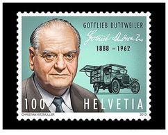 Switzerland 2013 -  125th Birthday Of Gottlieb Duttweiler Mnh - Unused Stamps