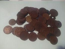 Chine - Lot De 54 Pièces De Monnaie Anciennes - China