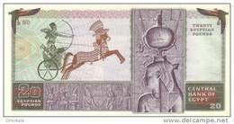 EGYPT  P. 48 20 P 1976 UNC - Egipto