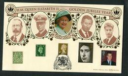 2002 GB H.M. Queen Elizabeth 2nd Golden Jubilee Cover. Parliament Square, London. Benham BLCS 231 - 1952-.... (Elizabeth II)
