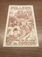 Polleur Fête De La Cour Du Coucou 1992 - Theux
