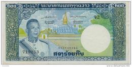 LAOS P. 13a  200 Kip 1963 (s.5) AUNC - Laos