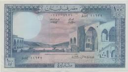 LEBANON P. 66c 100 L 1983  UNC - Liban