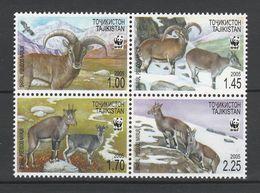 (WWF-254) W.W.F. Tajikistan Tadjikistan Tadschikistan Himalayan Blue Sheep Blauschaf Bharal MNH Stamps 2005 - Neufs