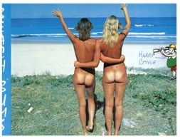 (D 26) Australia - Beach Bums - Femme Nue / Nude Women - Nus Adultes (< 1960)
