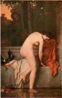 31ksk 1232 J.J. HENNES - LA CHASTE SUZANNE   (DIMENSIONS 10 X 15 CM) - Peintures & Tableaux