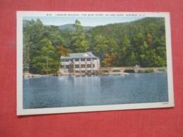 Lakeside Building Book Store Lake Susan Montreat  North Carolina      Ref 4235 - Etats-Unis
