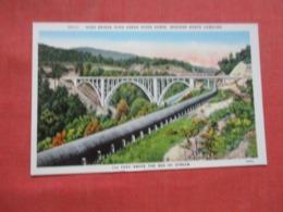 High Bridge  Over Green River Gorge Western - North Carolina       Ref 4235 - Etats-Unis