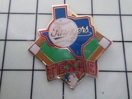1620 Pin's Pins / Beau Et Rare / THEME : SPORTS / Grand Pin's BASEBALL EQUIPE TEXAS RANGERS - Honkbal