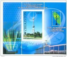 2011. Uzbekistan, 20y Of RCC, S/s, Mint/** - Uzbekistan