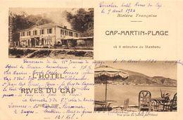 20-8902 : CAP-MARTIN HOTEL RIVES DU CAP - Roquebrune-Cap-Martin