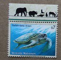 Vi98-01 : Nations-Unies (Vienne) / Protection De La Nature - Tortue Verte Ou Franche (Chelonia Mydas) - Vienna – International Centre