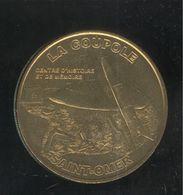 Jeton Touristique Monnaie De Paris - La Coupole - Saint Omer - 2010 - Monnaie De Paris