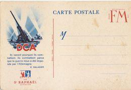 CPFM Pub St Raphaël Quinquina DCA - Marcophilie (Lettres)