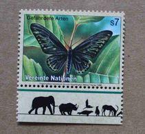 Vi98-01 : Nations-Unies (Vienne) / Protection De La Nature - Papillon Du Rajah Brooke - Vienna – International Centre