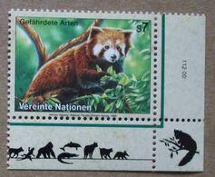 Vi98-01 : Nations-Unies (Vienne) / Protection De La Nature - Petit Panda (Panda Roux Ou Panda éclatant) - Vienna – International Centre