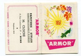Calendrier Mini 1957  Reims  Format : 60*86 Mm  A    VOIR  !!! - Tamaño Pequeño : 1941-60