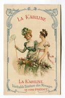 Calendrier Mini 1907 Chromo La Kabiline Format : 82*129 Mm     VOIR  DESCRIPTIF §§§ - Petit Format : 1901-20