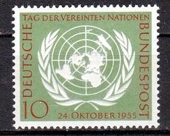 GERMANIA BUND  1955  Xx    MI 221  -   Postfrisch    -  Vedi  Foto  ! - [7] République Fédérale