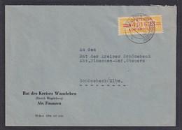 DDR., Dienst-Brief, EF. Mi.-Nr. 17 A - Official