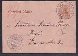 DR. Rohrpost Berlin  Gelaufen Mi.-Nr. Rp 13 - Unclassified