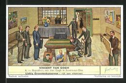 Sammelbild Liebig, Vincent Van Gogh - Begrafenis Van Van Gogh Te Auvers-sur-Oise - Liebig