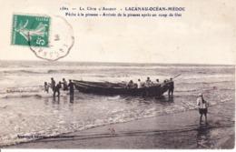 CPA LACANAU 33 - Pêche à La Pinasse - Autres Communes