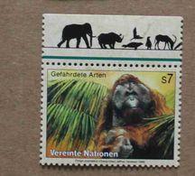 Vi99-01 : Nations-Unies (Vienne) / Protection De La Nature - Orang Outan (Pongo Pygmaeus) - Vienna – International Centre