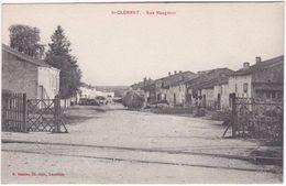 54. ST-CLEMENT. Rue Mangenot - Andere Gemeenten