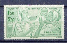 ININI Yv. PA N° 1  * 1f50   Enfance  Cote  1,2  Euro  BE  2 Scans - Unused Stamps