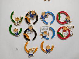Série De 10 Pin's Différents  , JO , Jeux Olympiques  Barcelona 1992 , Anneaux Olympiques - Giochi Olimpici