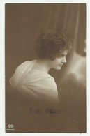 DONNA DI PROFILO - FROHL OPERN  1917 VIAGGIATA FP - Mujeres