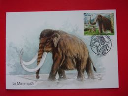 Animaux Préhistorique Mammouth Dessin Bruno Ghys La Maison Du Marbre Et La Géologie Rinxent Mammoth Mammut Mamoht Mamut - Prehistorics