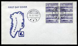 Greenland 1982  MiNr.136  (lot 234) DANMARKSHAVN - Groenland