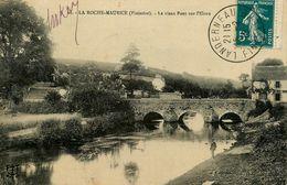 La Roche Maurice * Un Coin Du Village Et Le Vieux Pont Sur L'élorn - La Roche-Maurice