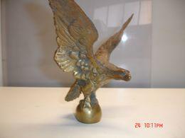 Aguila Maziza De Bronce,18x20 Cm, Peso 1.300 Gr--(ref-1) - Bronzes
