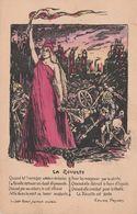 Carte Illustrateur à Identifier La Revolte Xavier Privas Carte Postale Socialiste Illustrée - Illustrateurs & Photographes