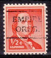USA Precancel Vorausentwertung Preo, Locals Oregon, Empire 716 - Estados Unidos