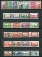 18793 ALGERIE N°101/26 *sauf 121   Sites Et Paysages    1936-37  B/TB - Algérie (1924-1962)