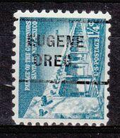 USA Precancel Vorausentwertung Preo, Locals Oregon, Eugene 255 - Estados Unidos