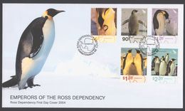 ROSS DEPENDENCY 2004 FDC Emperor Penguins - FDC