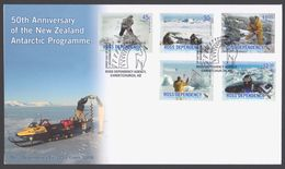 ROSS DEPENDENCY 2006 FDC 50th Anniversary Of The NZ Antarctic Programme - FDC
