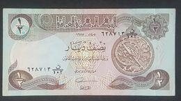 RS - Iraq 1/2 Dinari Banknote 1985 #N/102 628713 - Irak