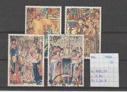 België 1979 - Yv. 1928/31 - OCB 1932/35 Gest./obl./used - Belgium