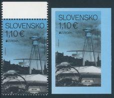 "SLOVAKIA/Slowakei/Slovensko EUROPA 2018 ""Bridges"" Gummed & Adhesive 2v** - 2018"