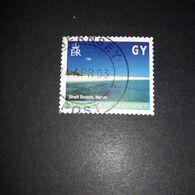 "A3MIX11 JERSEY BAILIWICK OF GUERNESEY SHELL BEACH HERM ""O"" - Jersey"