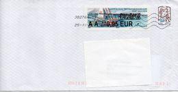 """FRANCE : VIGNETTE D'AFFRANCHISSEMENT """"ROUTE DU RHUM 2018 Sur Lettre - 2010-... Illustrated Franking Labels"""