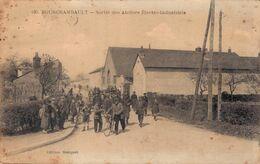 58 630 FOURCHAMBAULT Sortie Des Ateliers Electro Industriels - Other Municipalities