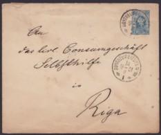 "Mi-Nr. U30 G, Seltenes Großformat, Stempel ""Bahnpost Nr. 116"", 1901 Gelaufen - 1857-1916 Imperium"