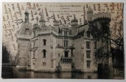 LES TROIS MOUTIERS - Château De La Motte-Chandeniers - CPA -  Carte Postale - Les Trois Moutiers